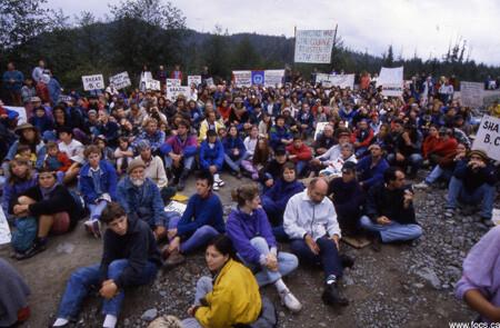 Clayoquot.1993.Blockade.2